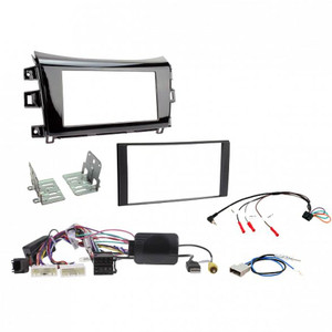 Aerpro FP9109XK Double din install kit to suite Nissan Navara NP300 ST/STX Gloss Black
