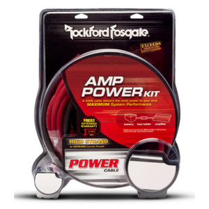 Rockford Fosgate RFK1D Dual Amp 1/0 AWG Dual Amp Wiring Kit