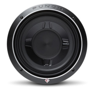 "Rockford Fosgate P3SD4-10  Punch 10"" P3S Shallow 4-Ohm DVC Subwoofer"