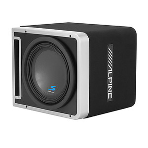 "Alpine S-SB12V S Series 12"" Halo Subwoofer With Prolink"