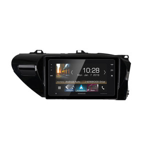 "Kenwood DMX820WXS Touch screen Media Receiver  with 8"" WVGA Display, Apple Carplay, Android Auto and SK-AP820HL Hilux Fascia"