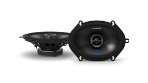 """Alpine S-S57 S-Series 5x7"""" Coaxial 2-Way Speaker"""
