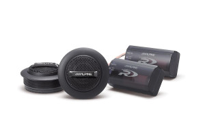 "Alpine SPR-10TW Type R 1"" Silk Dome Tweeters"