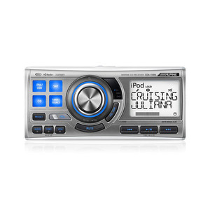 Alpine CDA-118M Marine CD Receiver