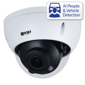 VIP Vision VSIPP-8DIRMD-I Professional AI Series 8.0MP Motorised Vandal Dome
