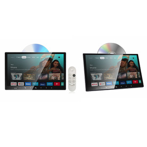 "HiTv ULTRA13 13.3"" Dual Smart TV Active DVD Screens"