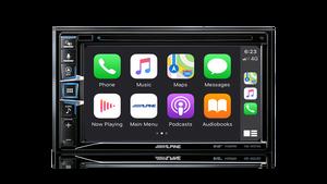 "Alpine INE-W970A 6.5"" Built-in Navigation + Apple CarPlay / Android Auto / DAB+ / CD/DVD /HDMI / Dual USB / Bluetooth / FLAC"