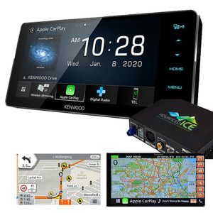 Kenwood DDX920WDABS Suit Toyota CD DVD with HEMA 4WD Navigation and Wireless Android Auto Apple Carplay