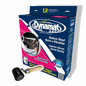 Dynamat 10435R Xtreme Door Kit with Dynamat 10008 Roller