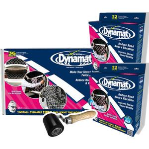 Dynamat 104554DR Bulk Kit with Dynamat 10435 4 Door Kit and 10008 Roller