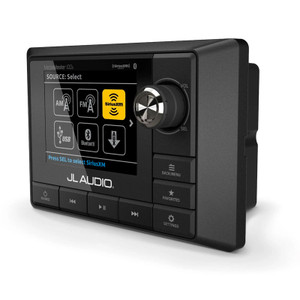 JL Audio MM100S-BE Weatherproof Source Unit with Full-Color LCD Display