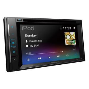 BONUS CAMERA NEW Pioneer AVH-A245BT 6.2″ Multimedia AV Receiver with BT, iPhone, USB & Aux