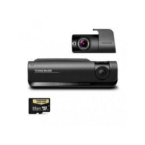 Thinkware T700D64 Full HD Front and rear LTE Dash cam with Live view - 64GB