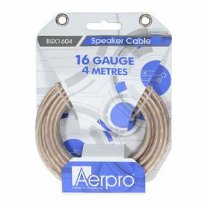 Aerpro BSX1604 16GA 4 meters Speaker Cable