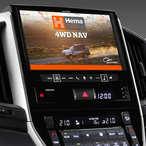 Alpine LC16-X902D Premium Navigation with HEMA for Landcruiser 200 Series