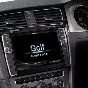 Alpine I902D-G7 Perfect Fit 9 Inch replacement Unit for Volkswagen Golf MK7