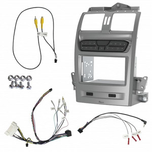 Aerpro FP9750SK Double Din Silver Install kit to suit Ford Falcon BA-BF/ Territory SX/SY