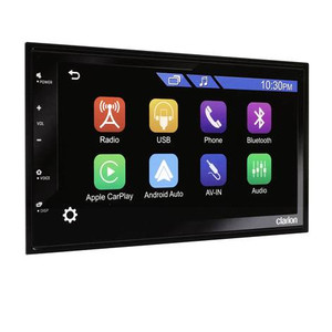 JUST RELEASED! Clarion FX450 Apple Carplay Android Auto Hi-Res Touchscreen