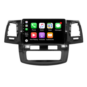 Hybrid Car Systems Toyota Hilux 05-14 Auto Air Compatible Wireless App Connect replacement solution