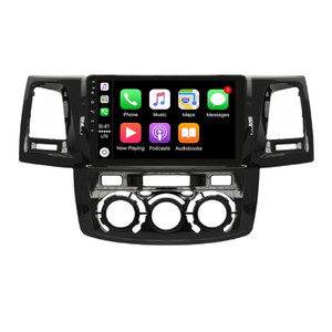 Hybrid Car Systems Toyota Hilux 05-14 Manual Air Compatible Wireless App Connect replacement solution