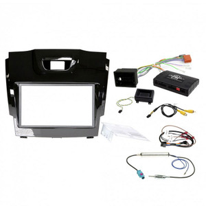Aerpro  FP8061BC Double din install kit to suit Holden colorado, colorado 7 gloss black