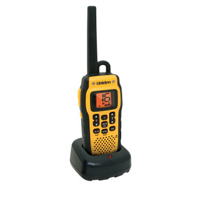 Uniden MHS050 2.5W VHF Marine Radio that Floats