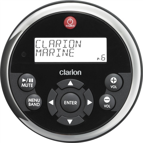 Clarion MW1  Watertight Marine Remote Control with LCD