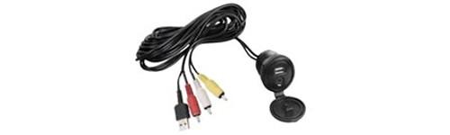 Clarion CCAUSBAV Universal USB + 3.5mm to RCA Audio/Video