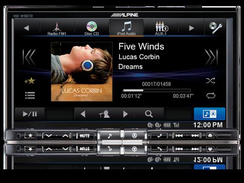 """Alpine INE-W987D 7"""" 7"""" DAB+/DVD/USB/HDMI/Bluetooth Advanced Navi Station"""