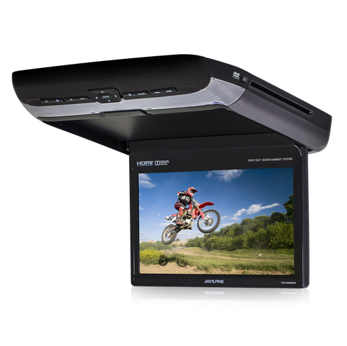 Alpine PKG-RSE3HDMI  10.1 Overhead DVD Player with HDMI and USB Video