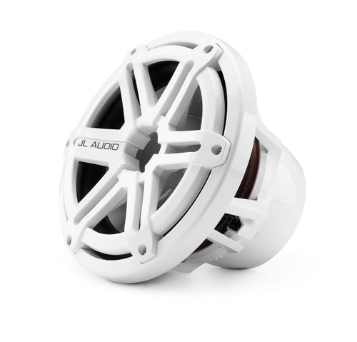 """JL Audio M10IB5-SG-WH 10"""" Marine Subwoofer with White Sports Grill"""