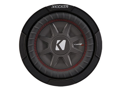 "Kicker CWRT81 8"" Dual 1 Ohm CompRT Series Subwoofer"