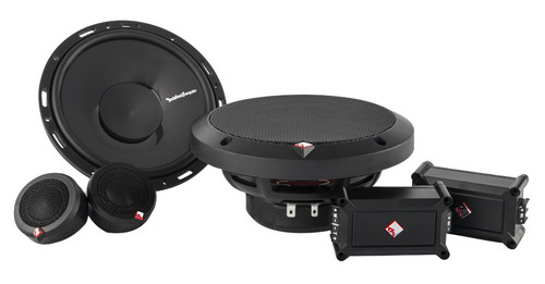 """Rockford Fosgate P165-SE Punch 6.5"""" 2-Way Euro Fit Compatible System External Xover"""