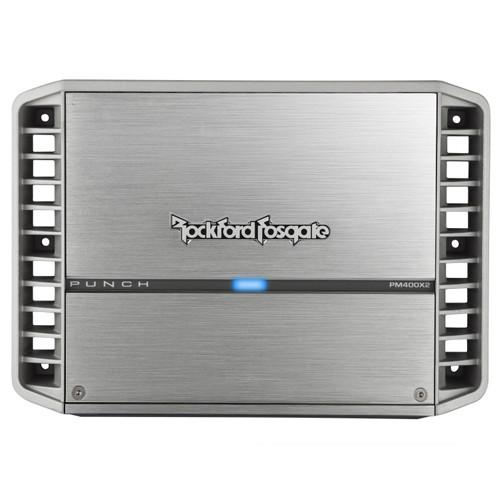 Rockford Fosgate PM400X2 Punch Marine 400 Watt 2-Channel Amplifier