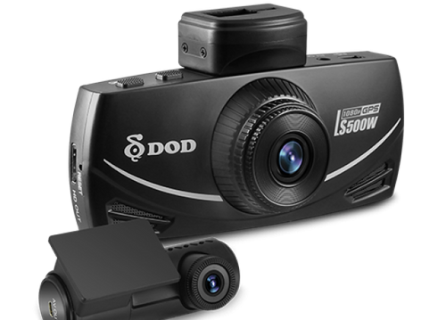 """DOD LS500S-2CH Full HD Dash Camera with 2.7"""" LCD Display - 32GB"""