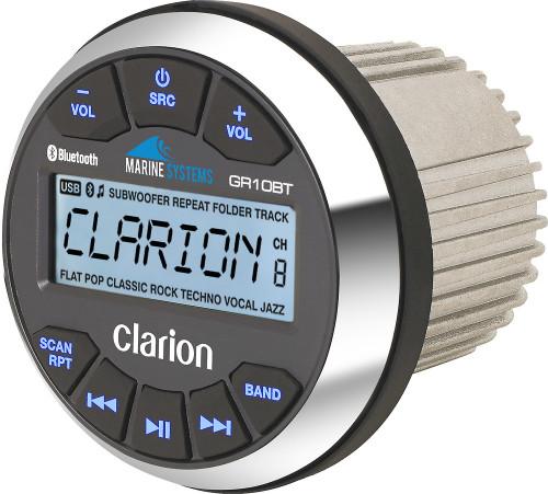 Clarion GR10BT Marine  Media Receiver with Bluetooth
