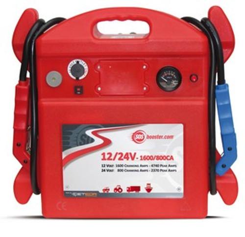 SOS Booster 12V/24V-1600/800CA