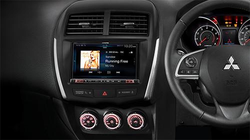 Alpine  Premium Infotainment Solution for Mitsubishi ASX