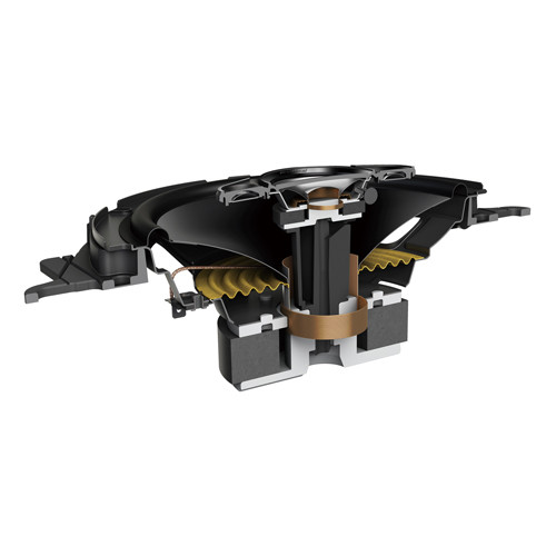 "Pioneer TS-A1680F Speakers 4 Way 6"" 350W Max, 80W RMS (Inc adaptor plates)"