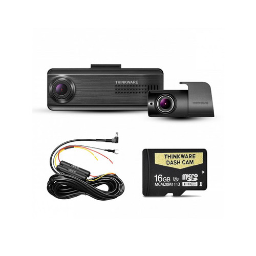 Thinkware F200 PRO Front and Rear Dash camera with 16GB memory Card