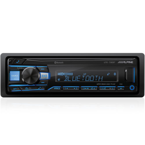 Alpine UTE-73EBT Digital Media Receiver with Bluetooth