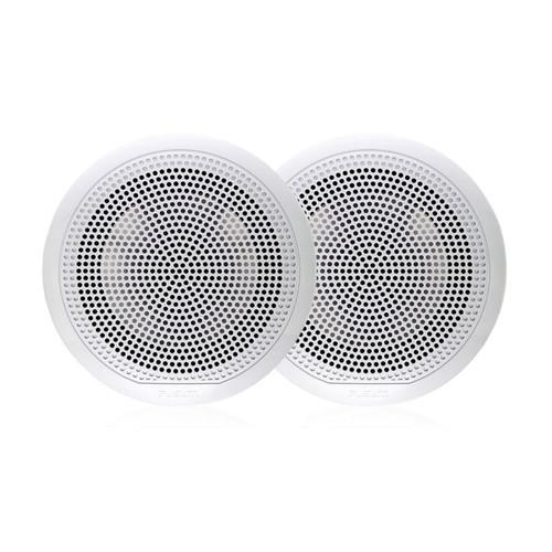 """Fusion  EL-F651W EL Series - 6.5"""" speaker pair, Classic grill white"""