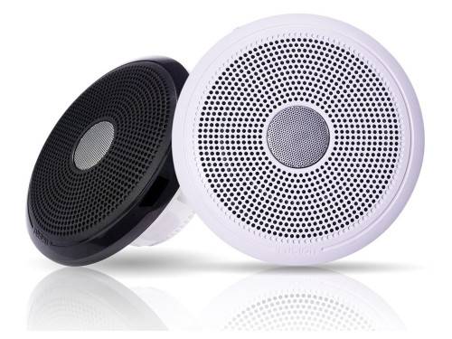 """Fusion  XS-F65CWB XS Series 6.5"""" Speaker pair - with Classic White & Black Grills - 200W"""