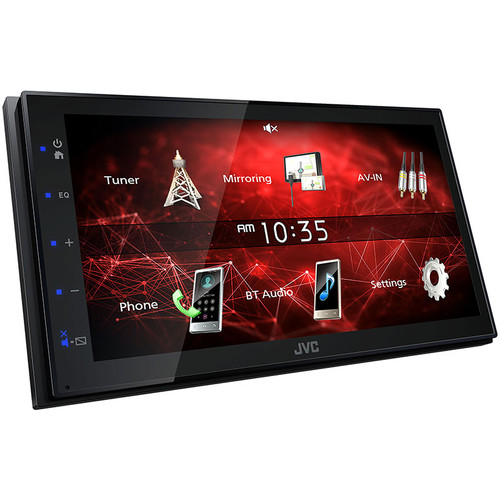 JVC KW-M150BT 2-Din Media Receiver with USB Smart Phone mirroring