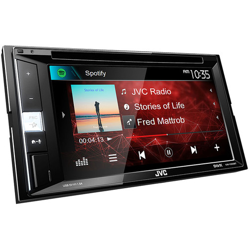 "JVC KW-V250BT AV Receiver 6.2"" screen with Bluetooth"