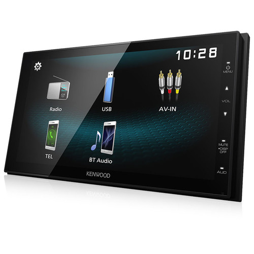 "Kenwood DMX1025BT Digital Media Receiver with 6.8"" WVGA"