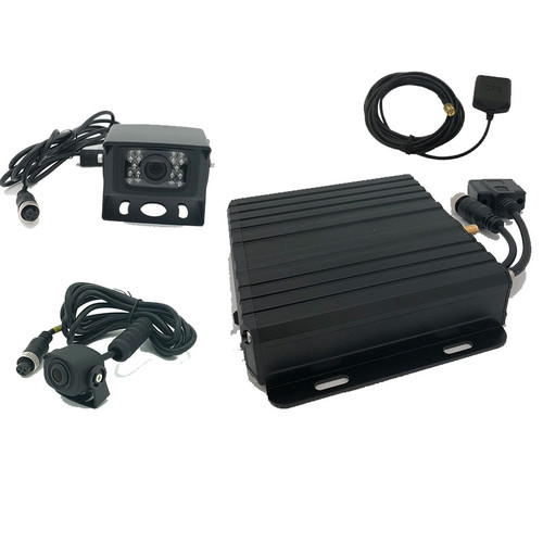 MDVR Commercial Black box with GPS 400 hours and 2 Camera