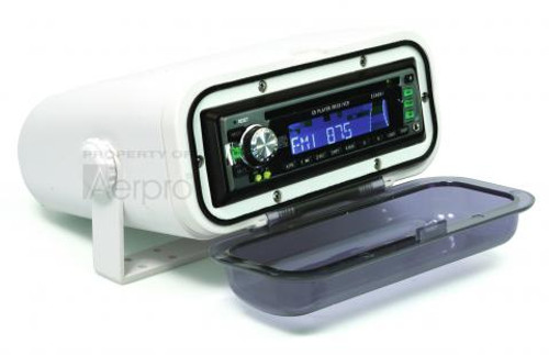 W/PROOF U/V RADIO HOUSING