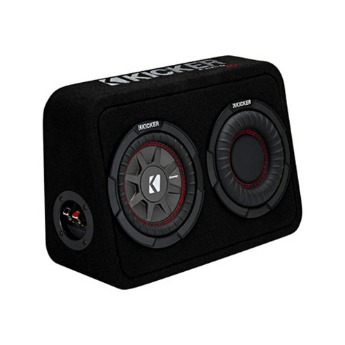 Kicker TCWRT674 6.75 Inch loaded Comp RT Loaded Enclosure with reflex subwoofer