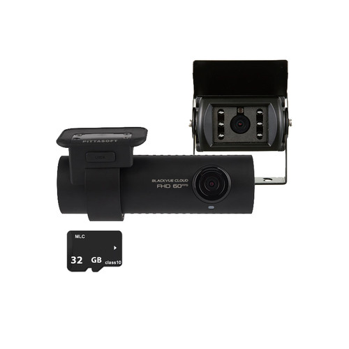 Blackvue DR750- 2CH Truck 1080P with Rear Water Proof Camera with 32GB Memory Card